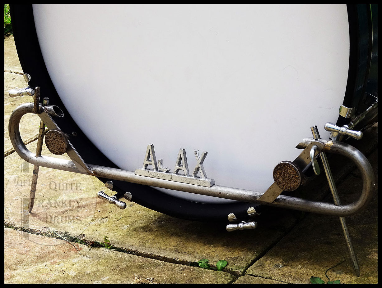 Ajax 1949 Blue Sparkle Quite Frankly Drums Kit