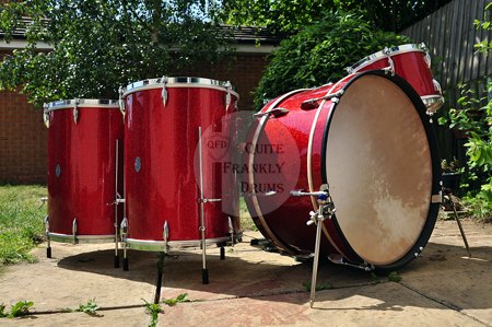 1945c Ajax Boosey & Hawkes De-Luxe Drum Kit