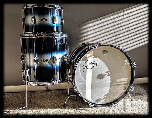 George H Way Mahogany Duco Set - Quite Frankly Drums