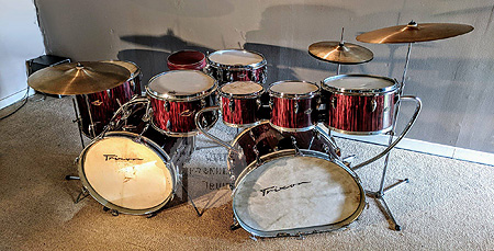 Trixon Luxus Speedfire Quite Frankly Drums Set