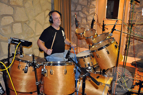 Graham Collins Recording At The Genesis Fisher Lane Farm Studios
