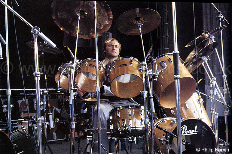Phil Collins Pearl BLX 1982 Set