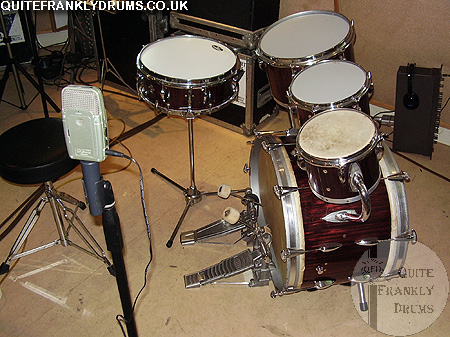 Trixon Speedfire 0/700-3 Drum Set Quite Frankly Drums