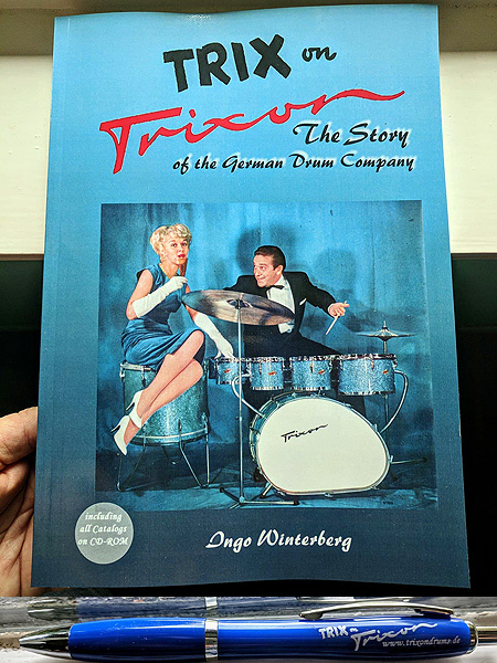 Trix On Trixon The Story Of The German Drum Company Ingo Winterberg